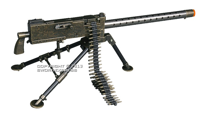 how to make a 30 cal machine gun