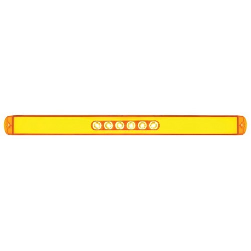 "United Pacific (2) "" GLO BAR "" Amber 28 LED 17"" Trailer Truck Marker Turn Signal Lights at Sears.com"
