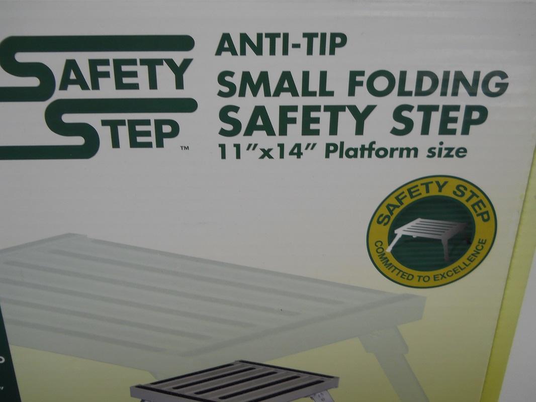 Rv Camper Motor Home Trailer Black Aluminum Folding Safety