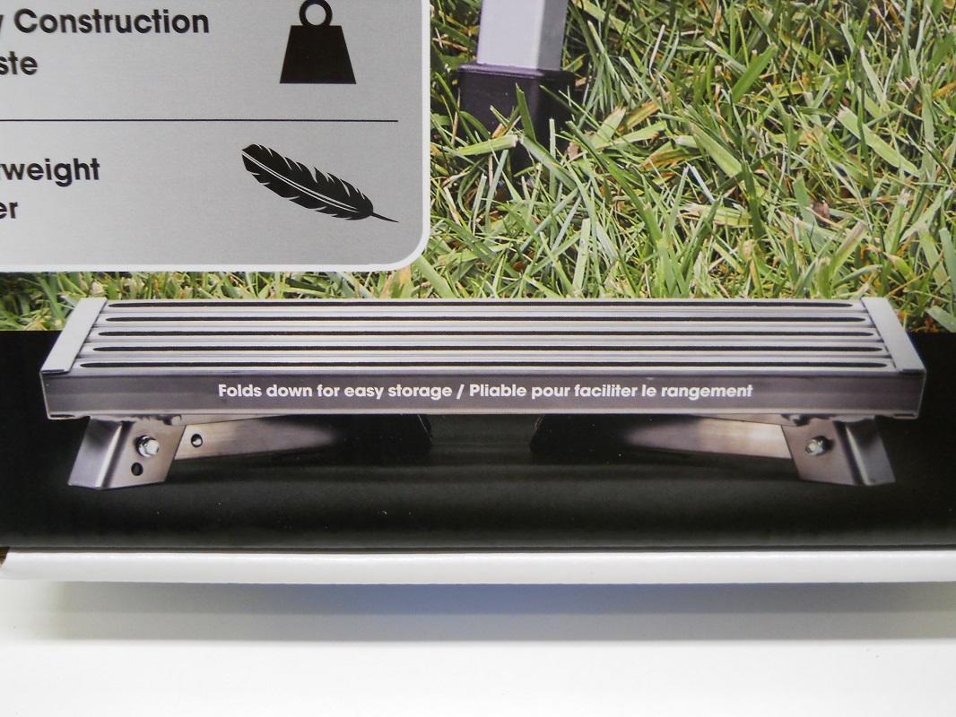 Rv Camper Motor Home Trailer Silver Aluminum Folding