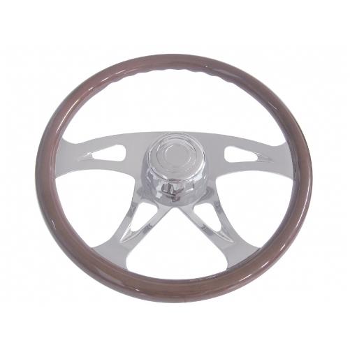 Semi Chrome Wheel Covers : International semi truck quot chrome boss four spoke