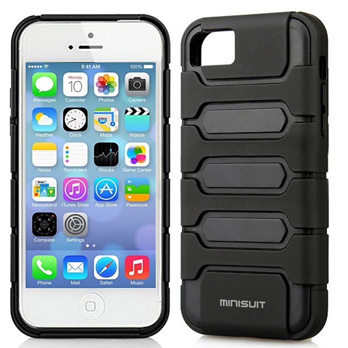 Minisuit Dual Layer Hard Case for iPhone 5C Survivor at Sears.com