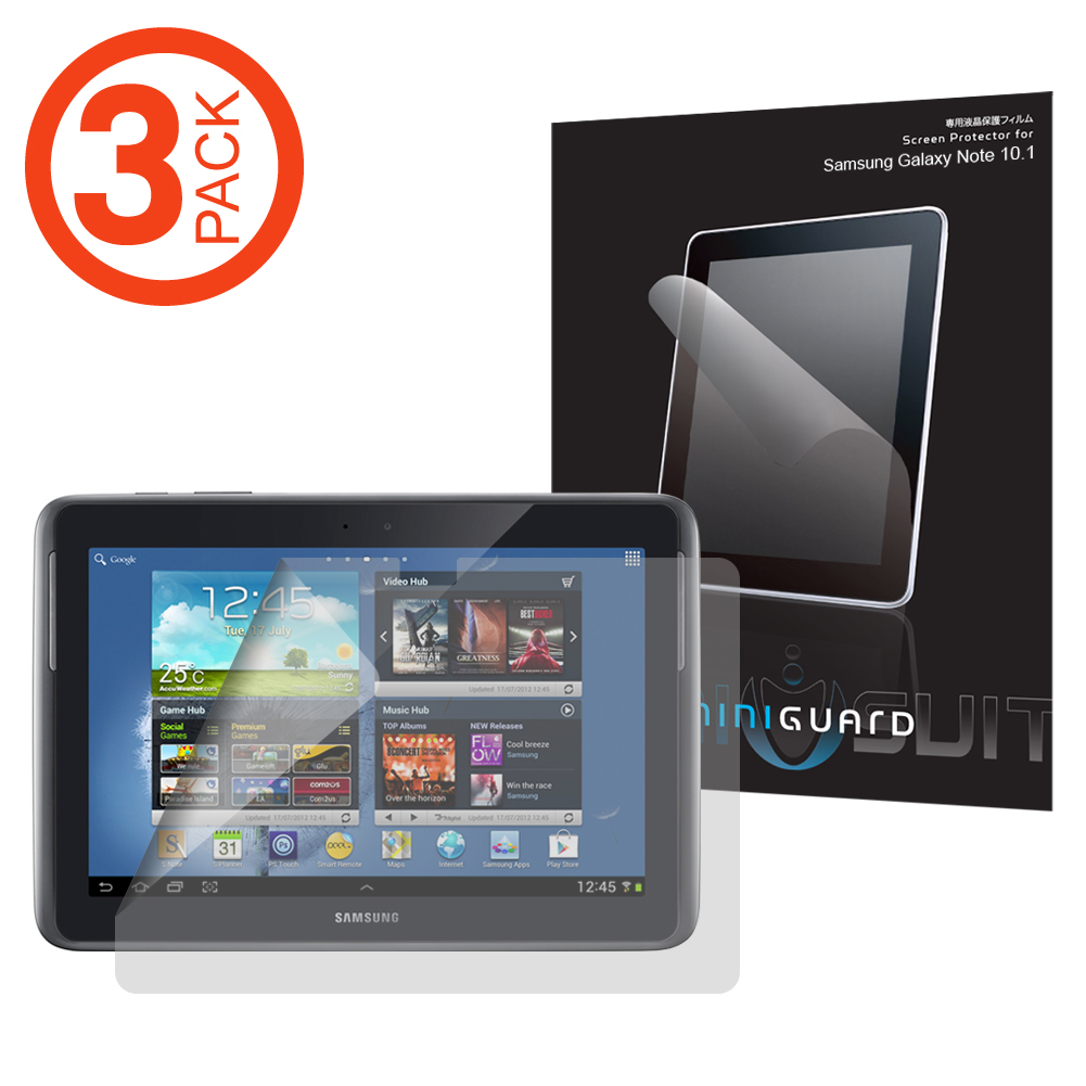 "2 Pack Clear Tablet Screen Protector Guard For 10.1/"" Google Nexus 10"