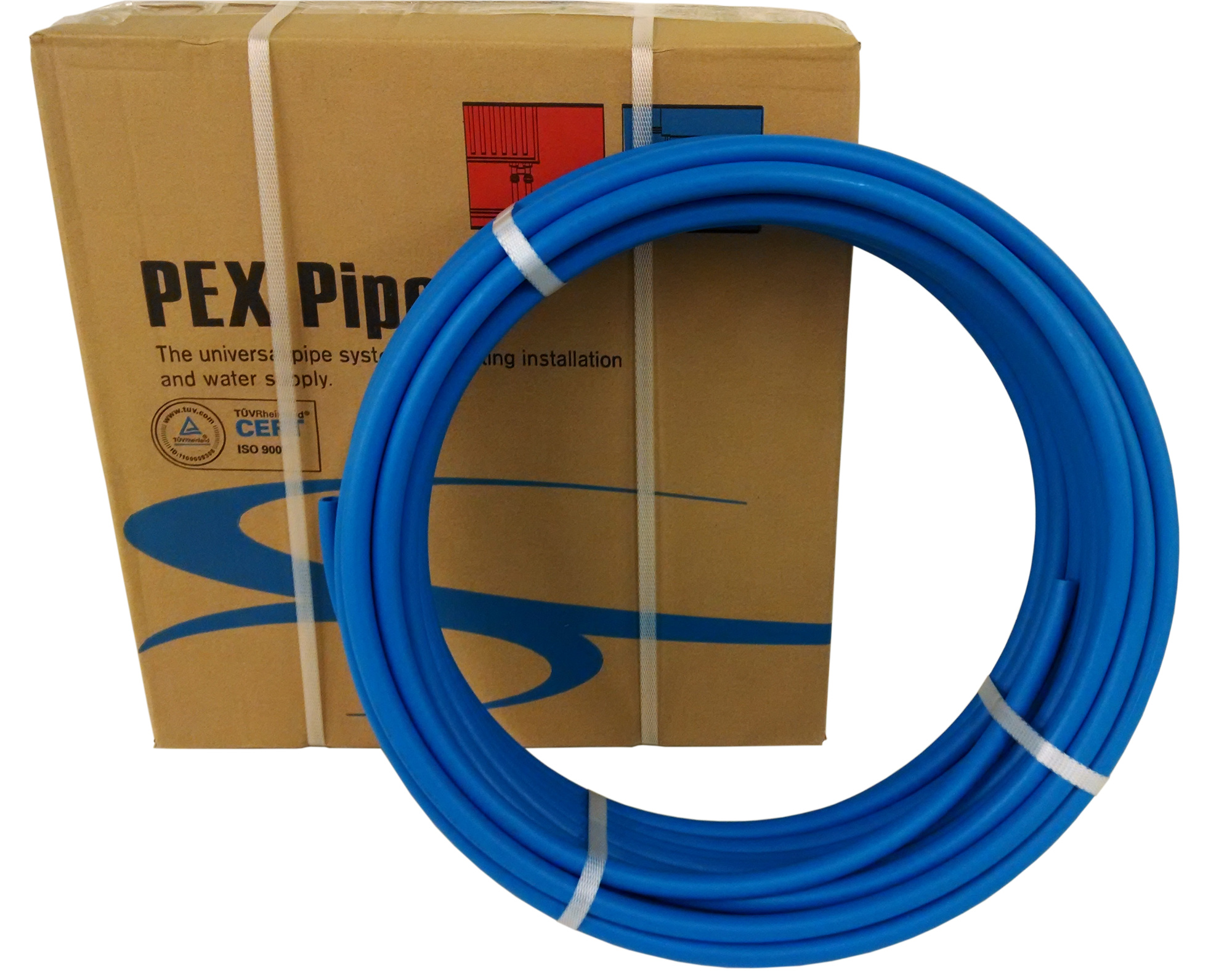 1 2 x 500ft blue pex tubing pipe pex b 1 2 inch 500 ft for Types of pex