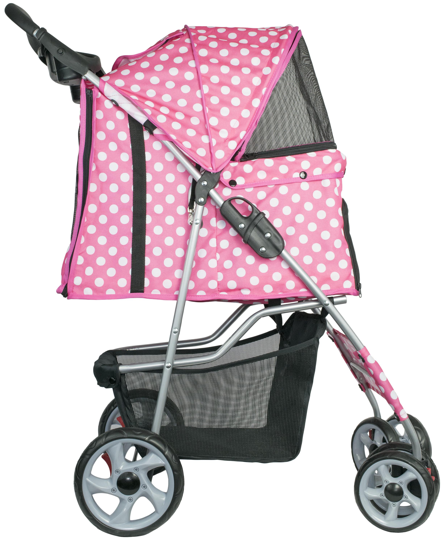 Vivo 4 Four Wheel Pet Stroller Cat Dog Foldable Carrier