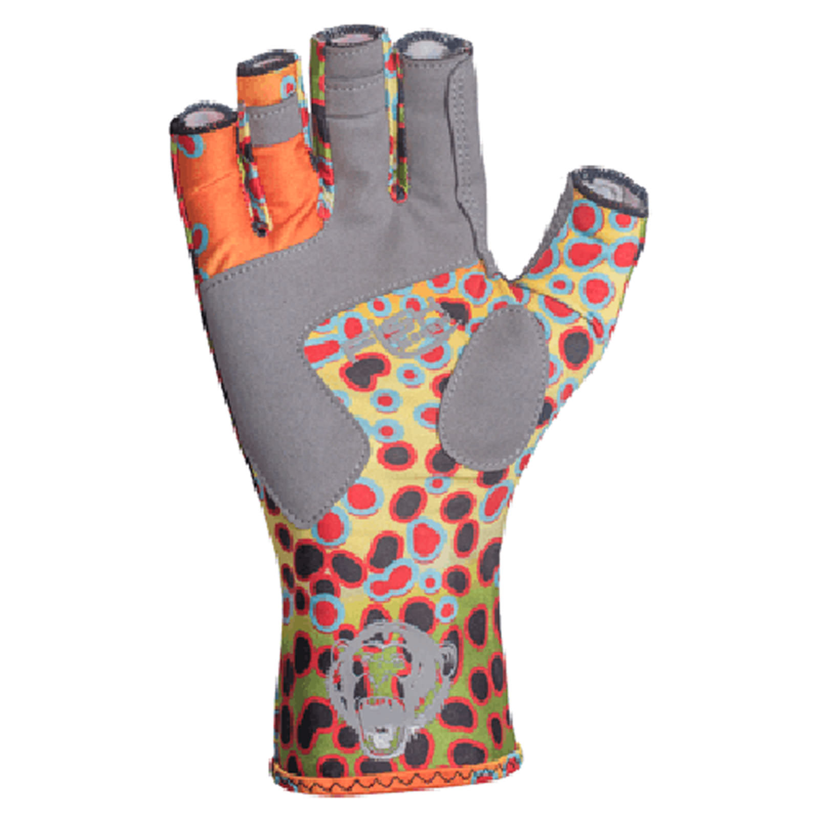 Fish Monkey Gloves Half-Finger Guide Gloves