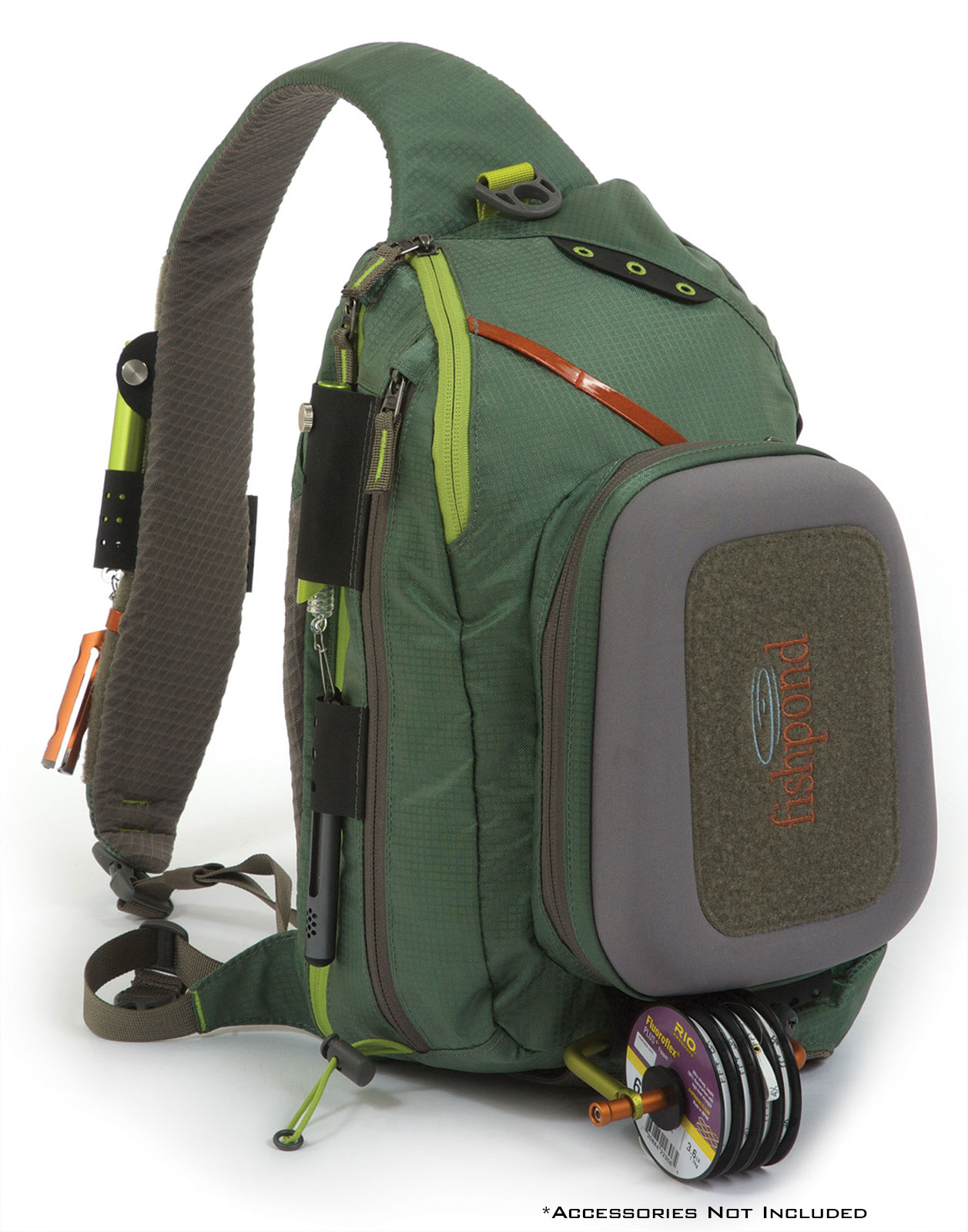 Fishpond summit sling fly fishing pack hands free gear for Fly fishing gear