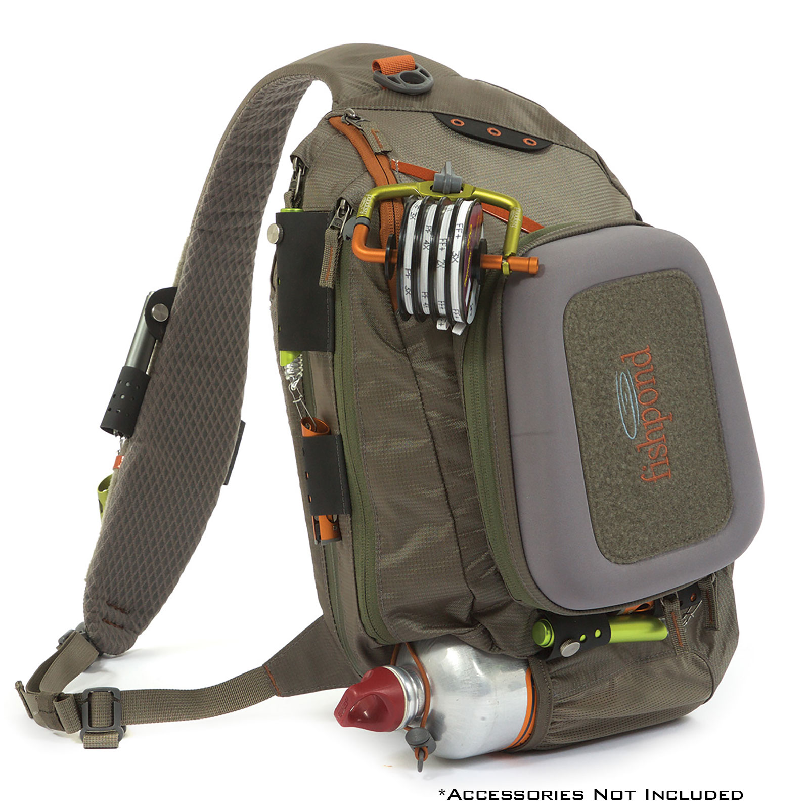 fishpond summit sling fly fishing pack hands free gear