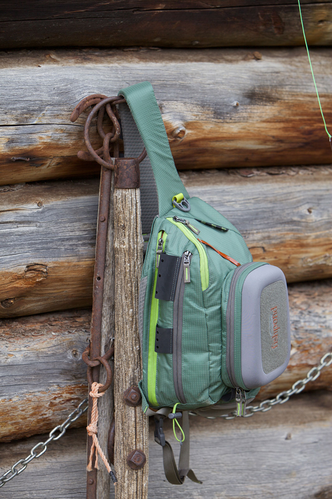 Fishpond summit sling fly fishing pack hands free gear for Free fishing stuff