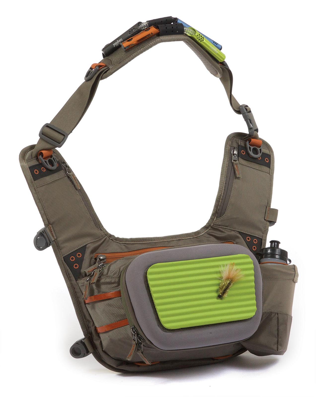 Fishpond buckhorn sling fly fishing pack shoulder bag for Fly fishing sling pack