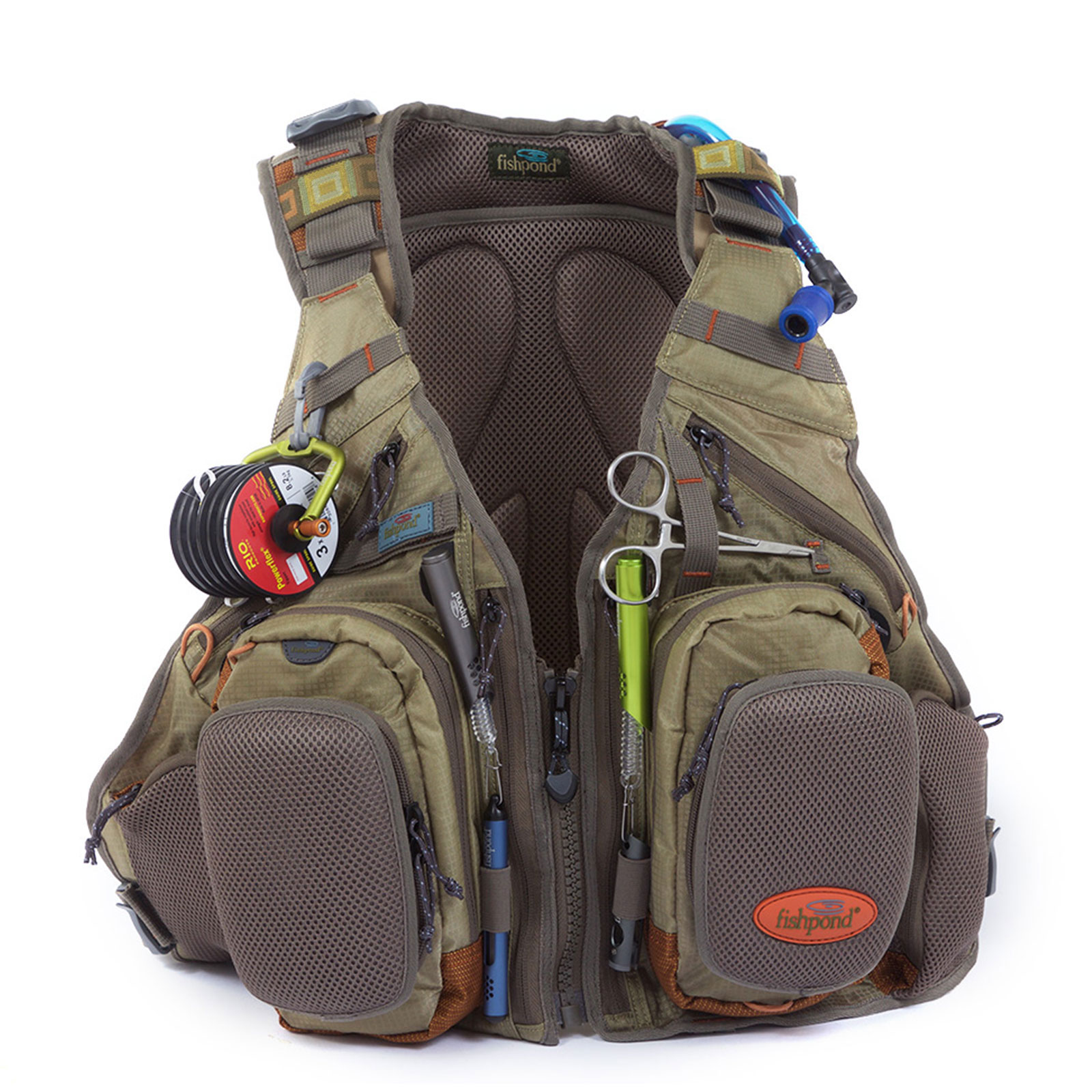 Fishpond wasatch tech pack fly fishing vests ebay for Fly fishing packs