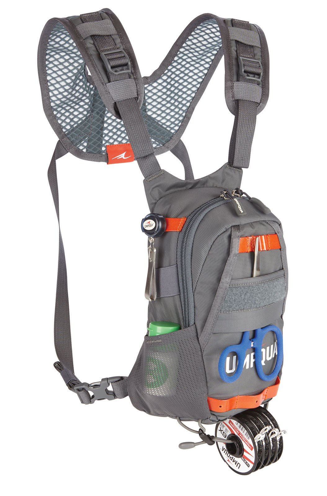 Umpqua rock creek small chest pack for fly fishing bag ebay for Fishing chest pack
