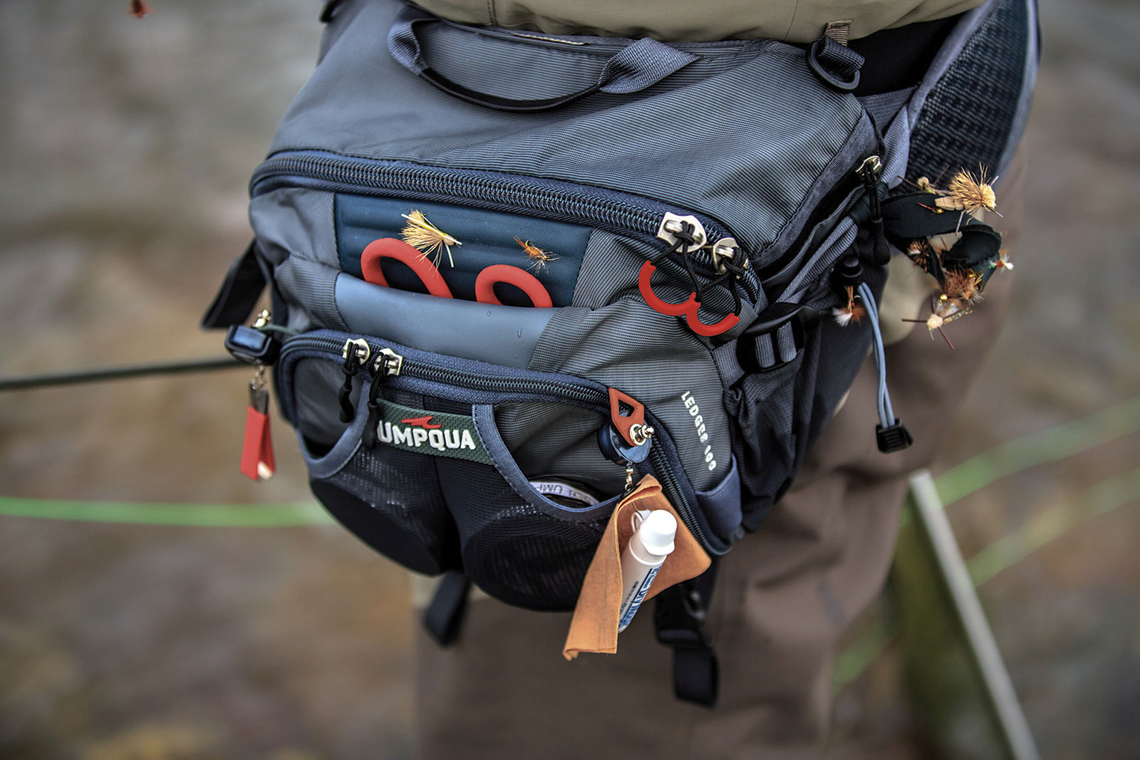 Fly fishing bag for Fishing waist pack