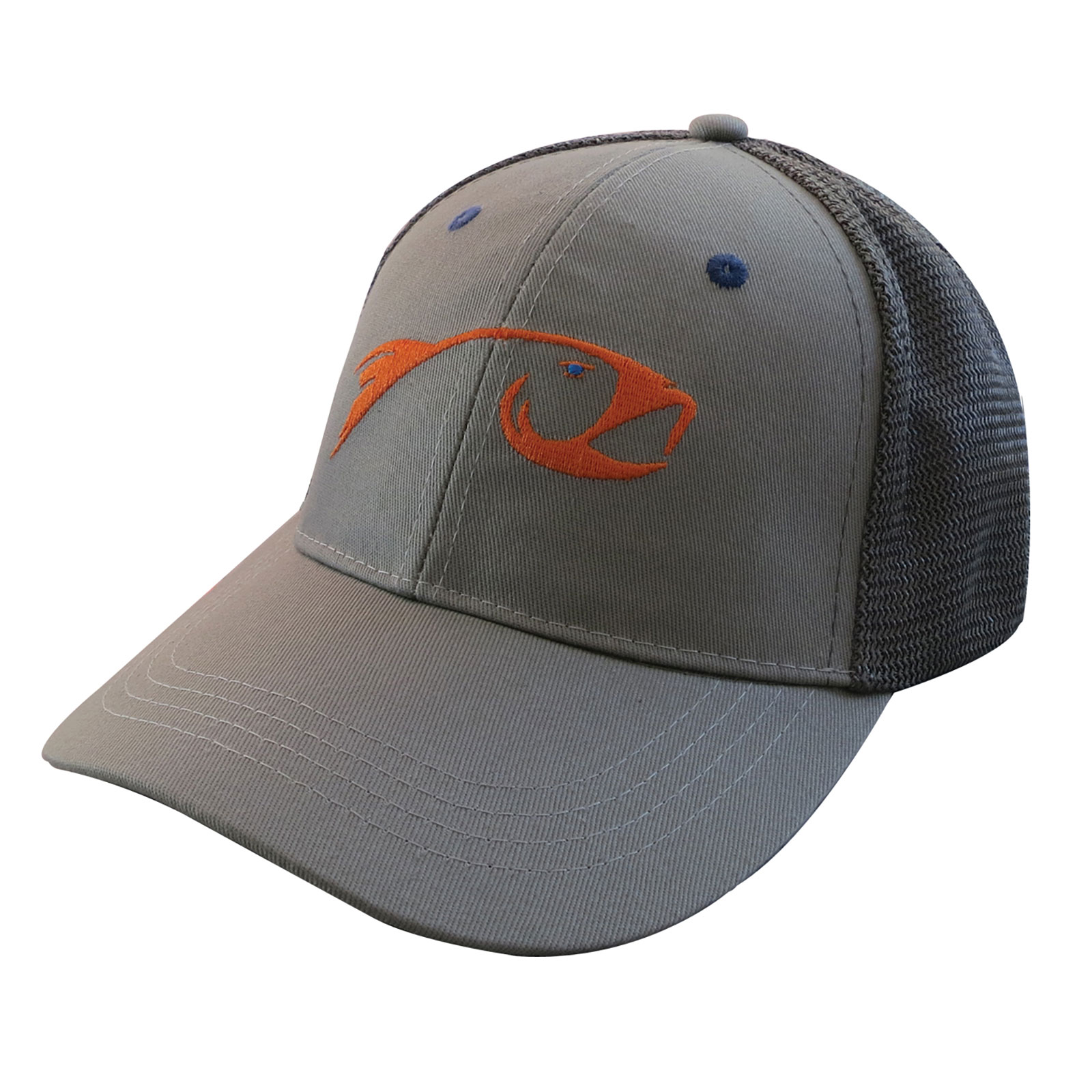 Rising fly fishing trucker baseball cap hat ebay for Fishing trucker hats
