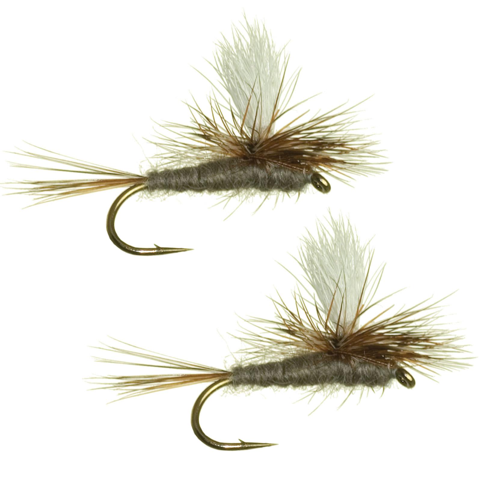 Umpqua parachute adams fly fishing dry flies multi packs for Ebay fly fishing