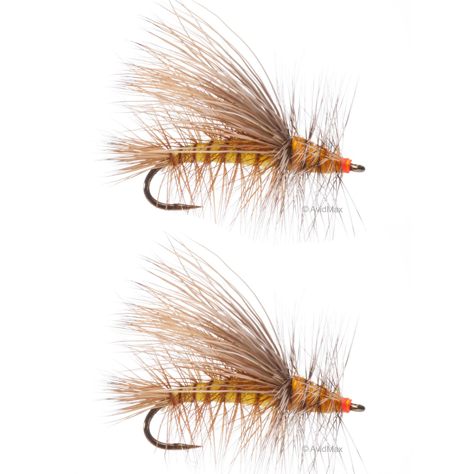 Umpqua stimulator kaufmann barbless yellow fly fishing dry for Fly fishing flies
