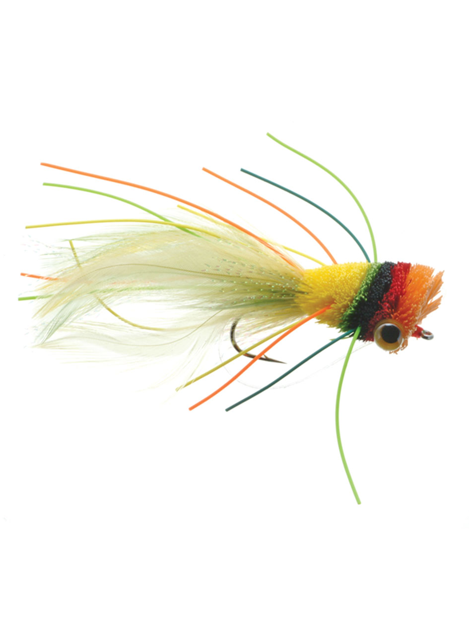 Umpqua Deerhair Bass Bug Fruit Cocktail Fly Fishing Bass ...