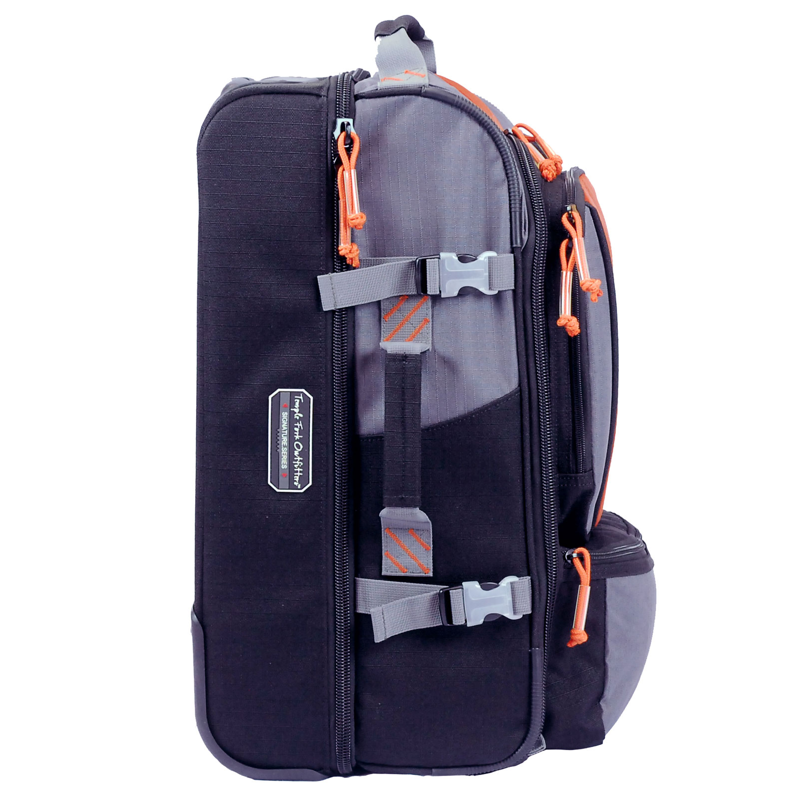 Tfo rolling carry on bag fly fishing durable wheeled for Fly fishing luggage