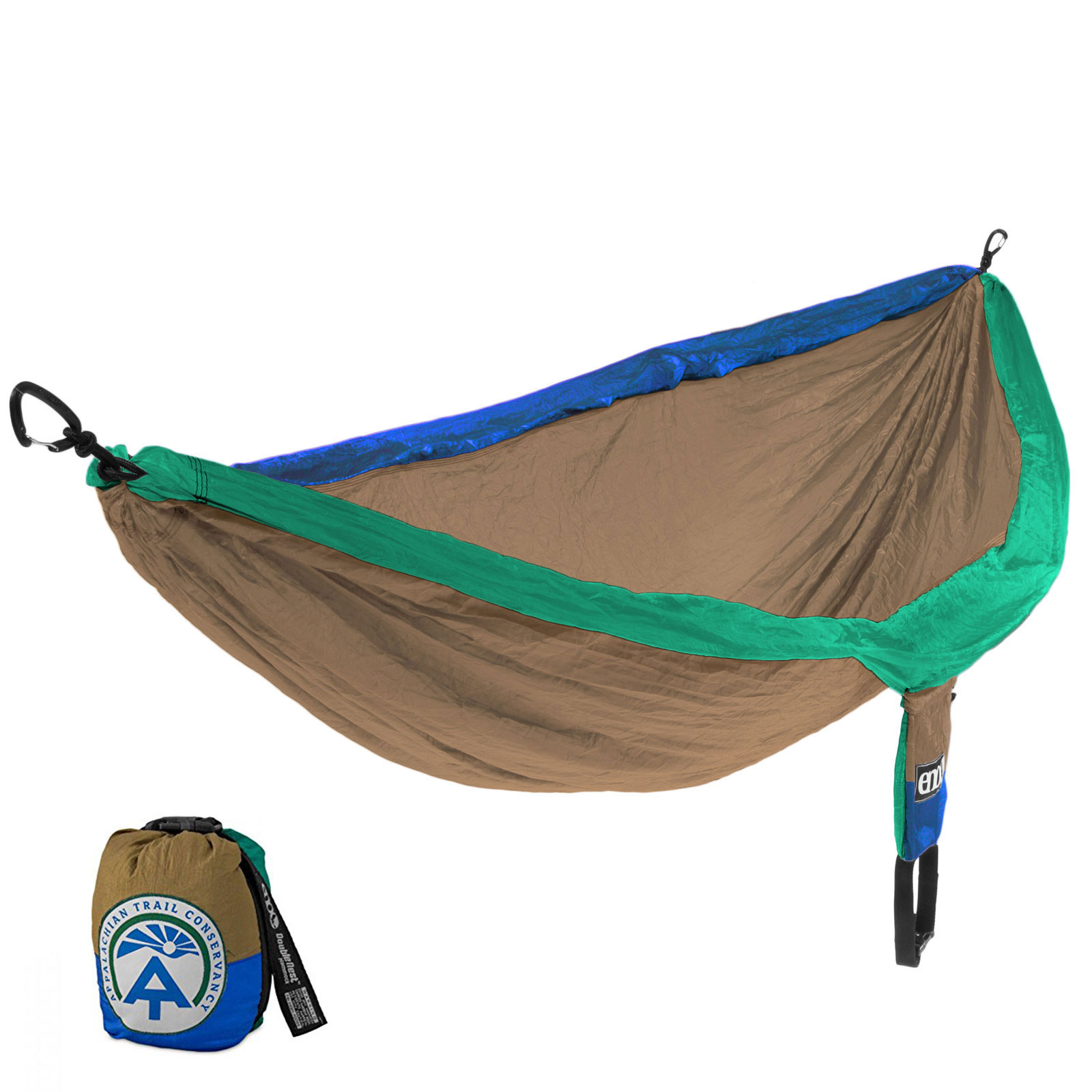 ENO DoubleNest Hammock Outdoor Camping Backpacking Nylon Portable