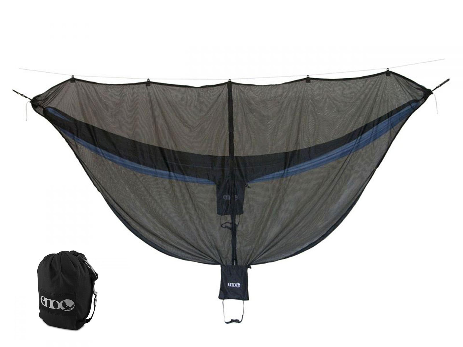 ENO-Double-Deluxe-OneLink-Hammock-Tent-System-Guardian-  sc 1 st  eBay & ENO Double Deluxe OneLink Hammock Tent System Guardian Bug Net ...