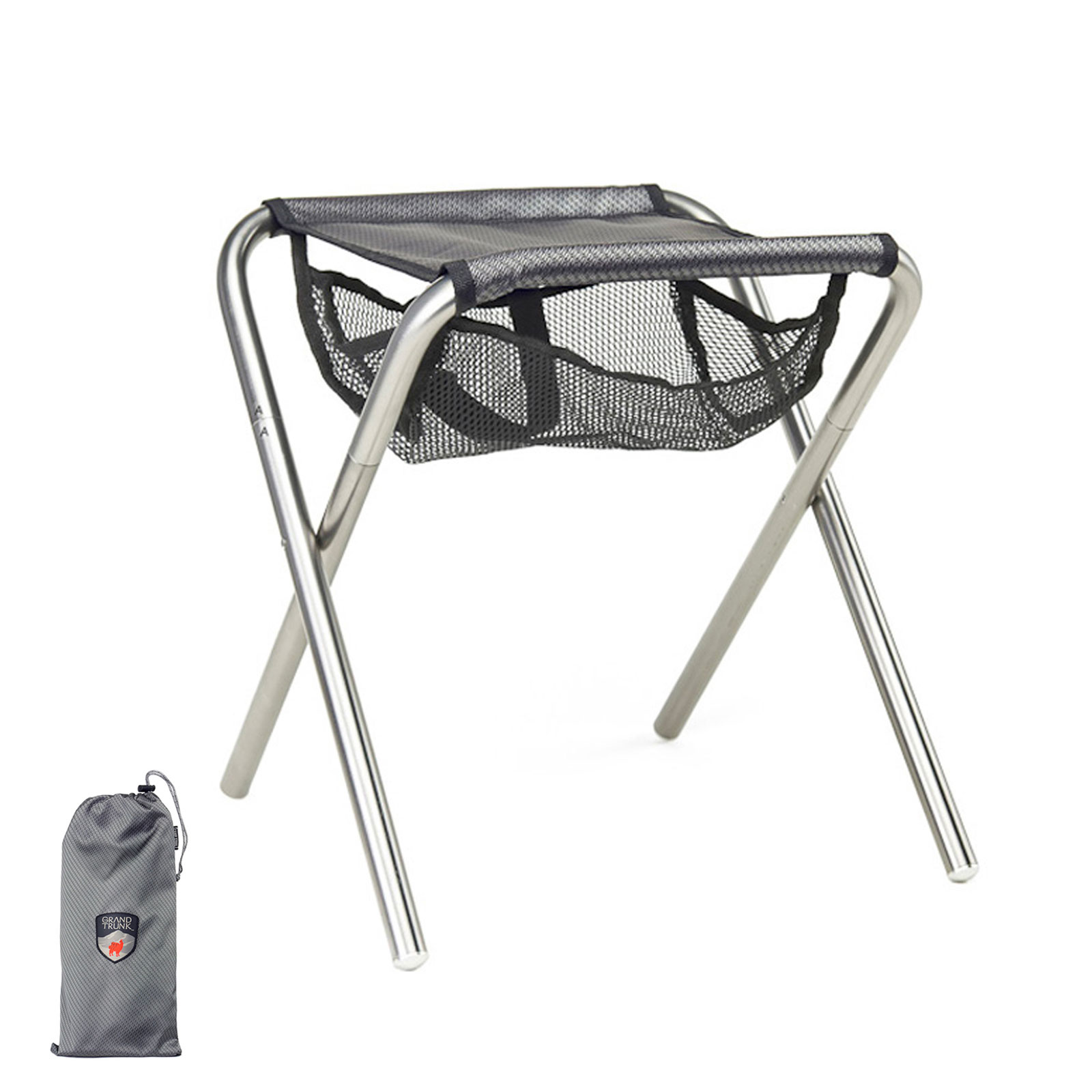Grand Trunk Collapsible Camp Stool pact Folding Travel Chair
