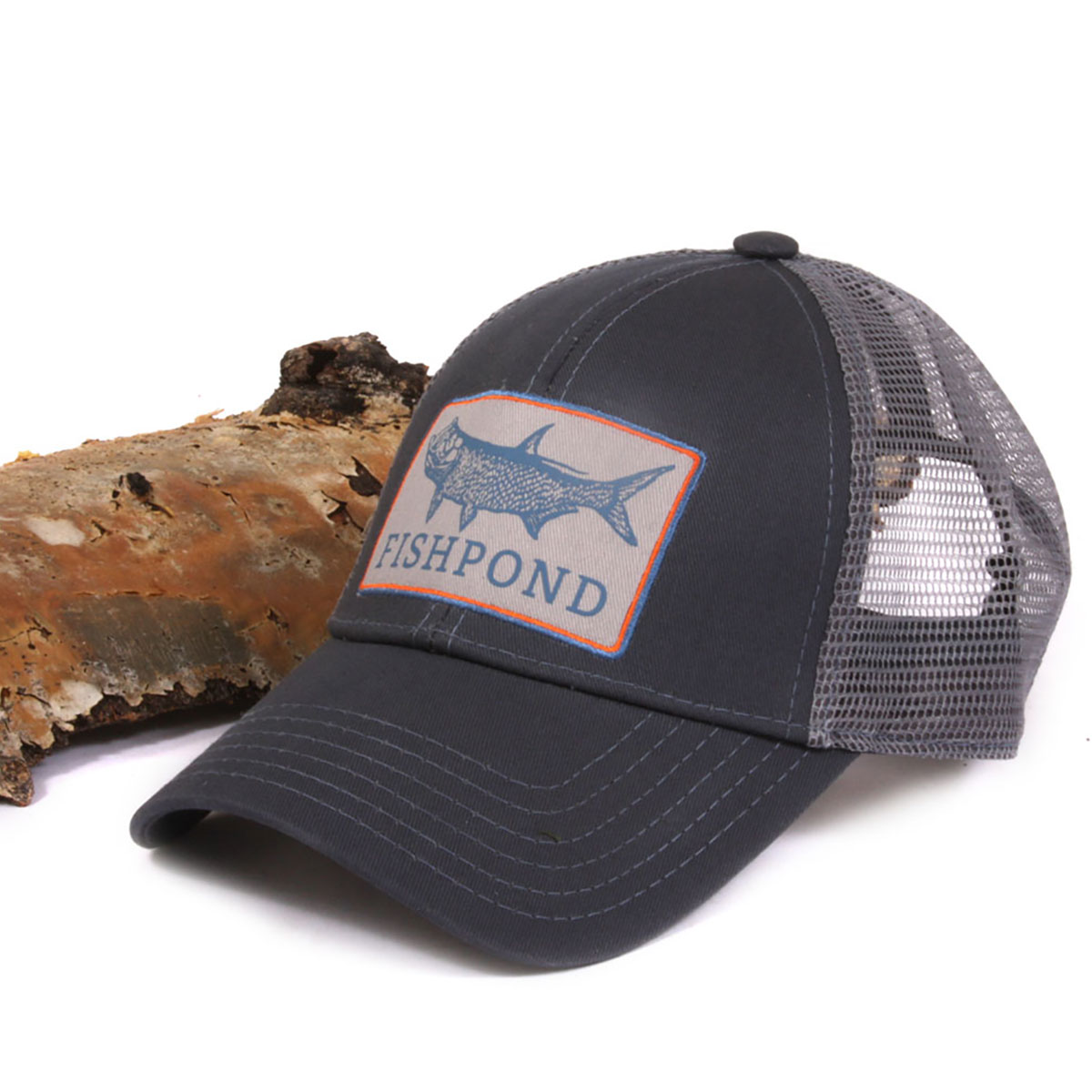 Fishpond retro king logo adjustable velcro fly fishing hat for Fly fishing cap