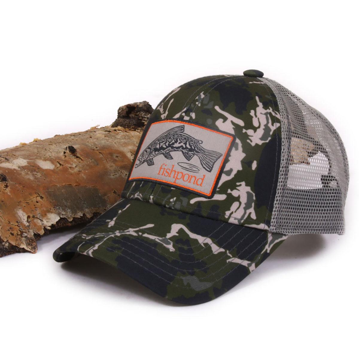 Fishpond Trucha Logo Adjustable Velcro Fly Fishing Hat Cap