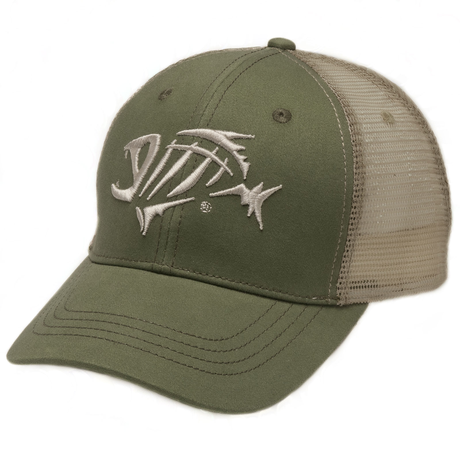 G loomis bandit trucker mesh side anti glare snap back for Fishing trucker hats