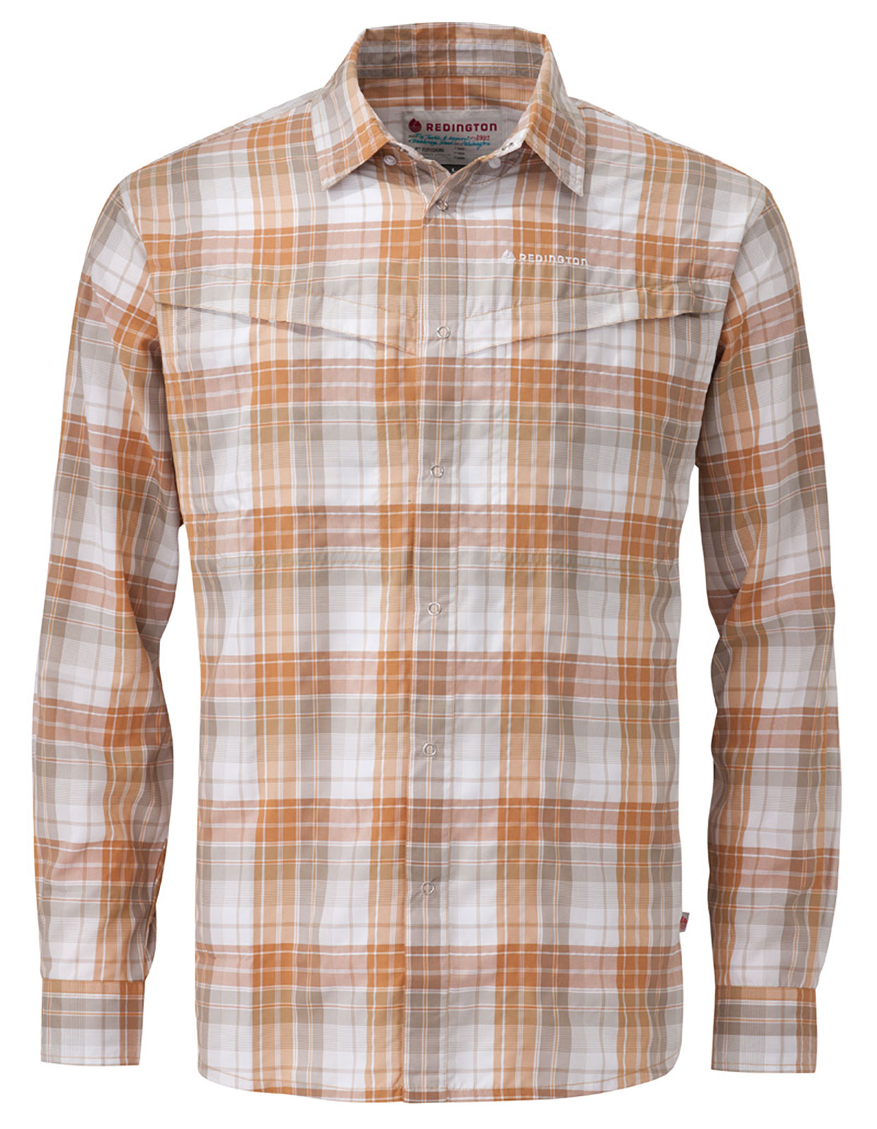 Redington wayward guide shirt long sleeve fly fishing t for Fly fishing sun shirt