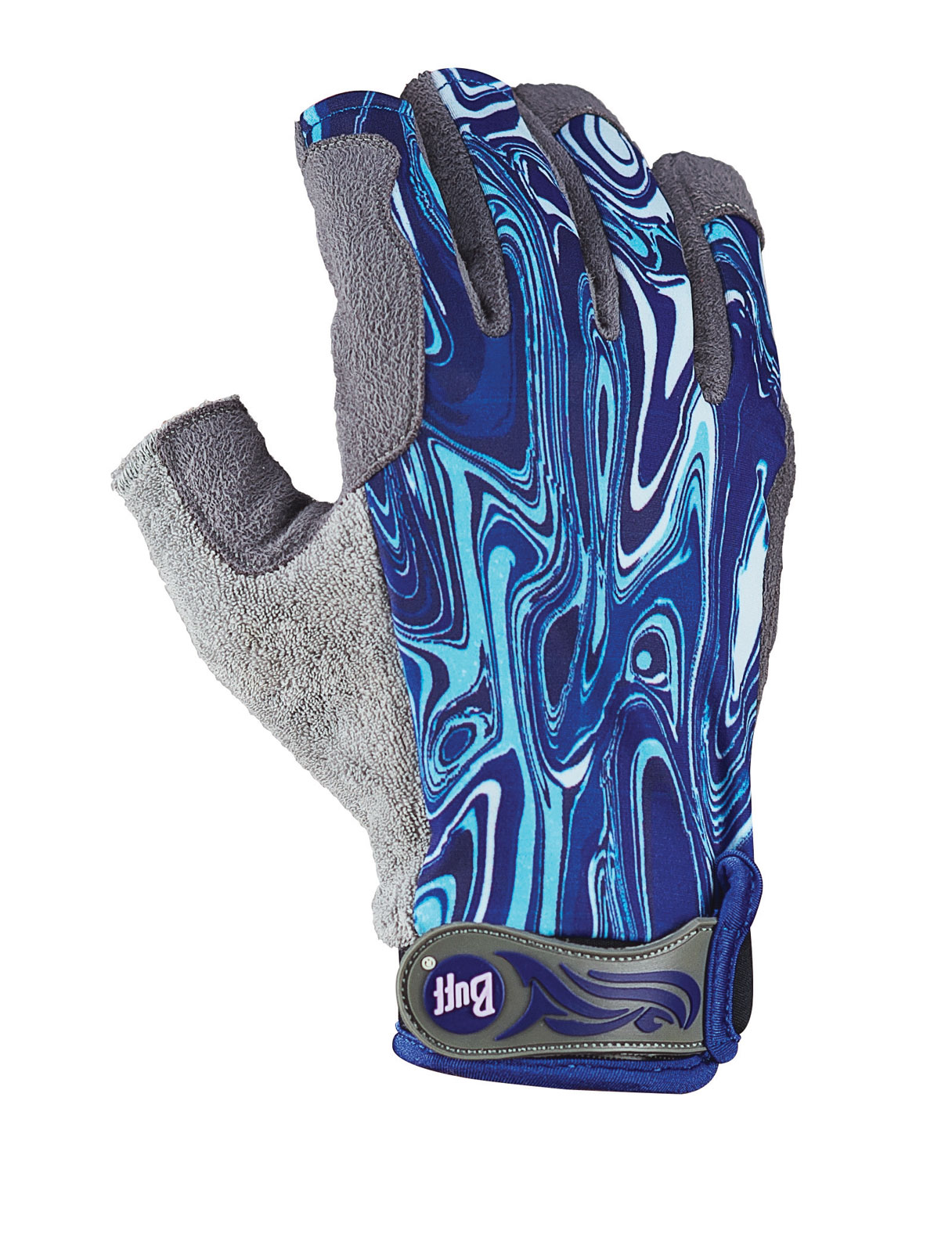 Buff pro series fly fishing fighting work angler gloves 3 for Buff fishing gloves