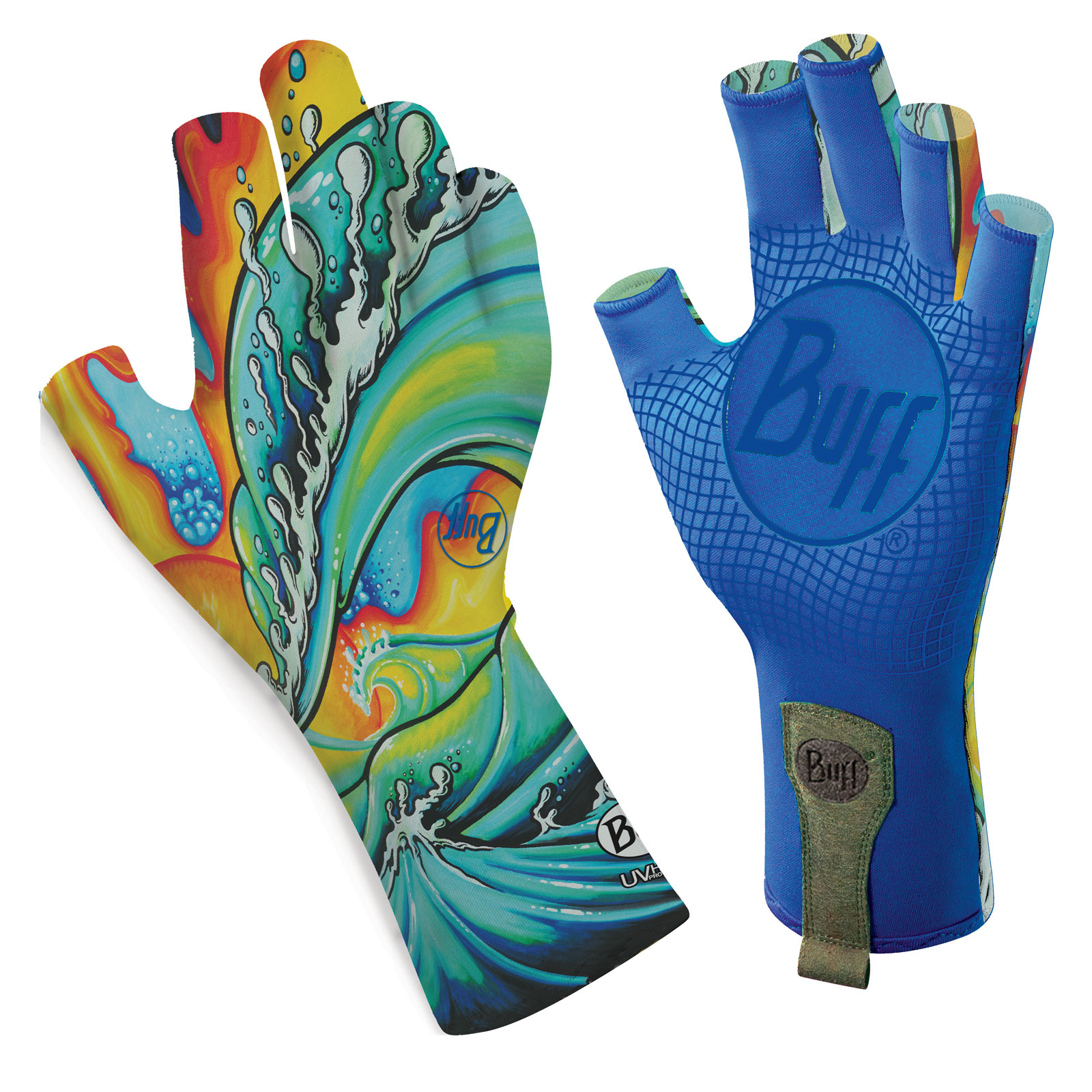 Buff sport series water gloves 2 fly fishing weather hand for Buff fishing gloves