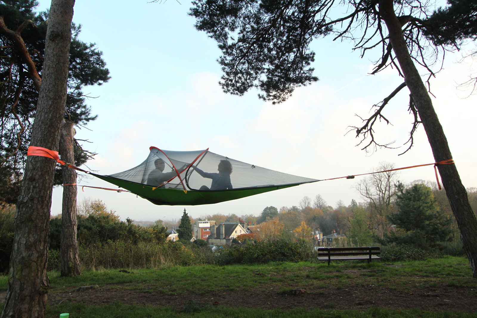 Tentsile-Connect-Tree-Tent-&-Ultralight-Ladder-w- & Tentsile Connect Tree Tent u0026 Ultralight Ladder w/ Free ENO ...
