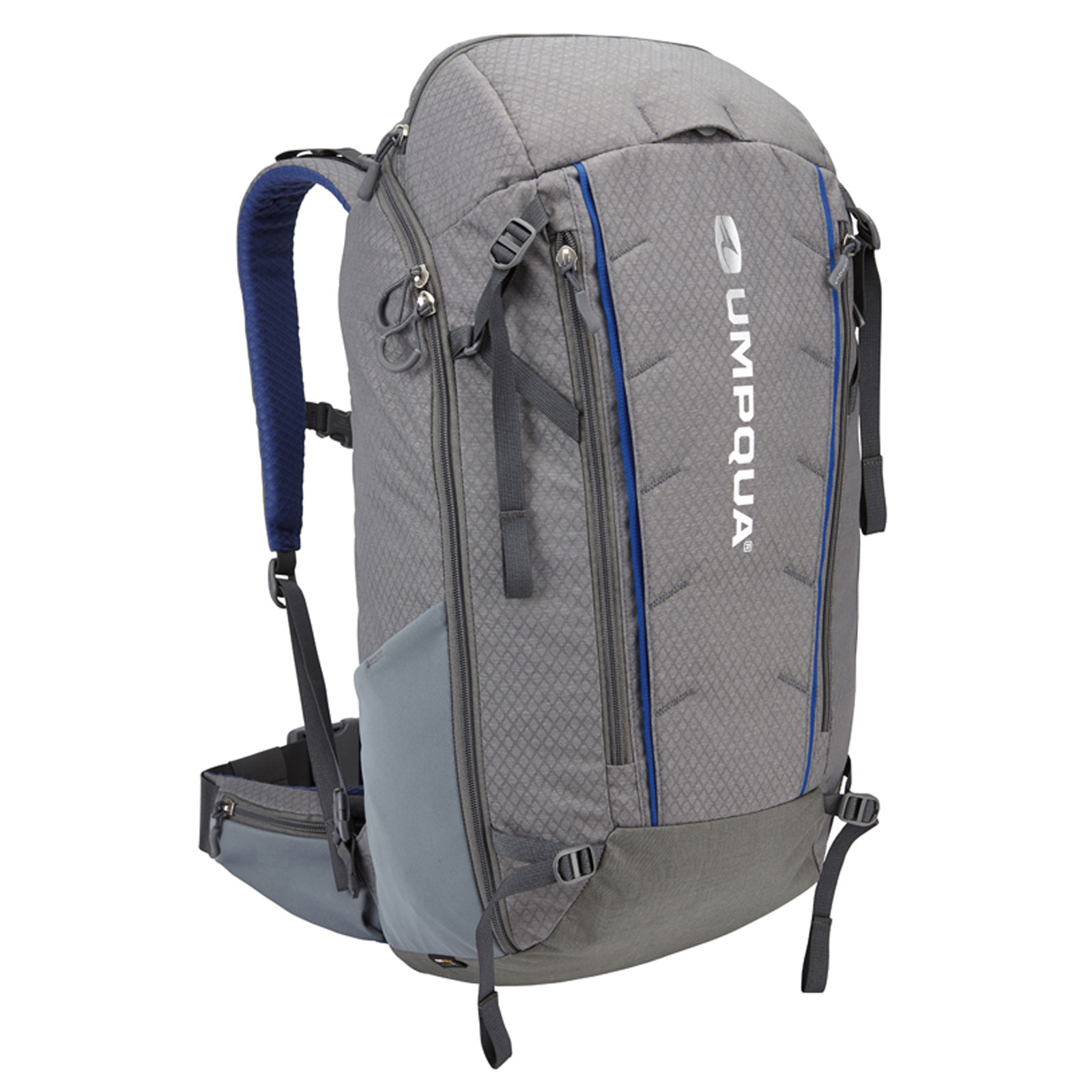 Umpqua surveyor 2000 zs zero sweep backpack fly fishing for Fishing backpack tackle bag