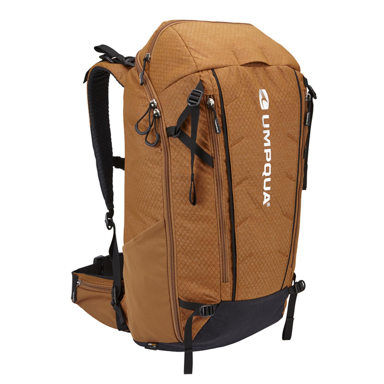 Umpqua surveyor 2000 zs zero sweep backpack fly fishing for Fly fishing gear