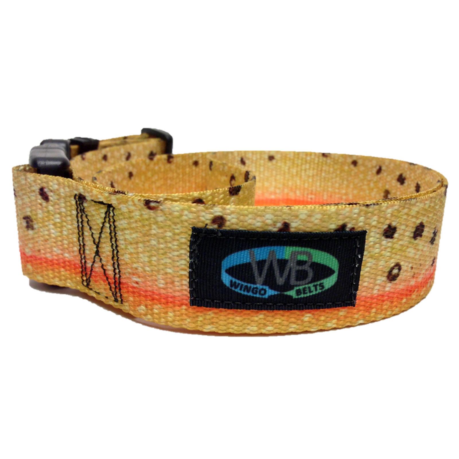 Wingo belts wading belts artisan durable adjustable for Wade fishing gear