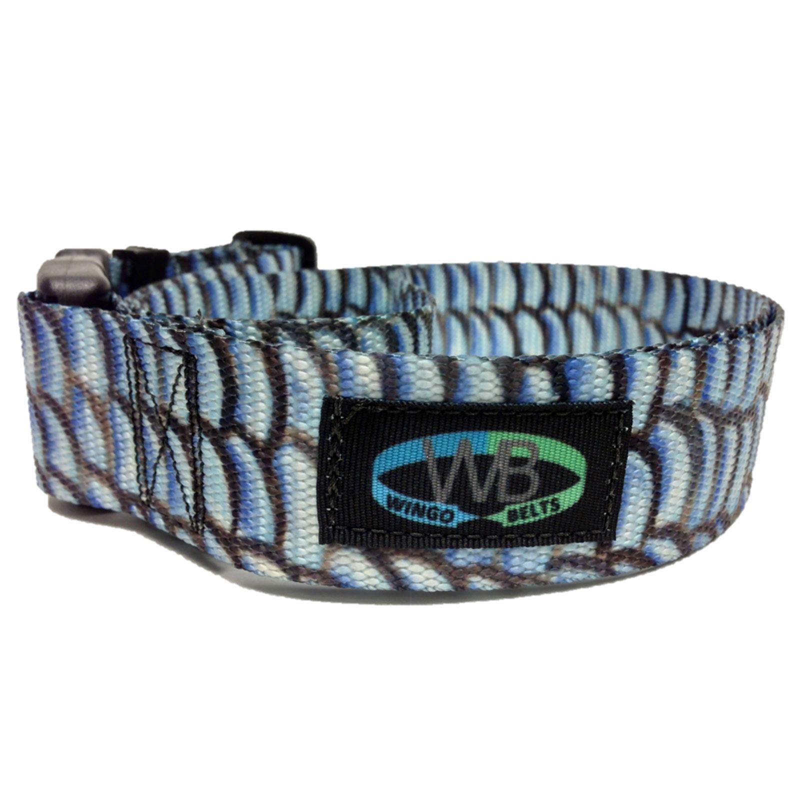 Wingo belts wading belts artisan durable adjustable for Wade fishing belt