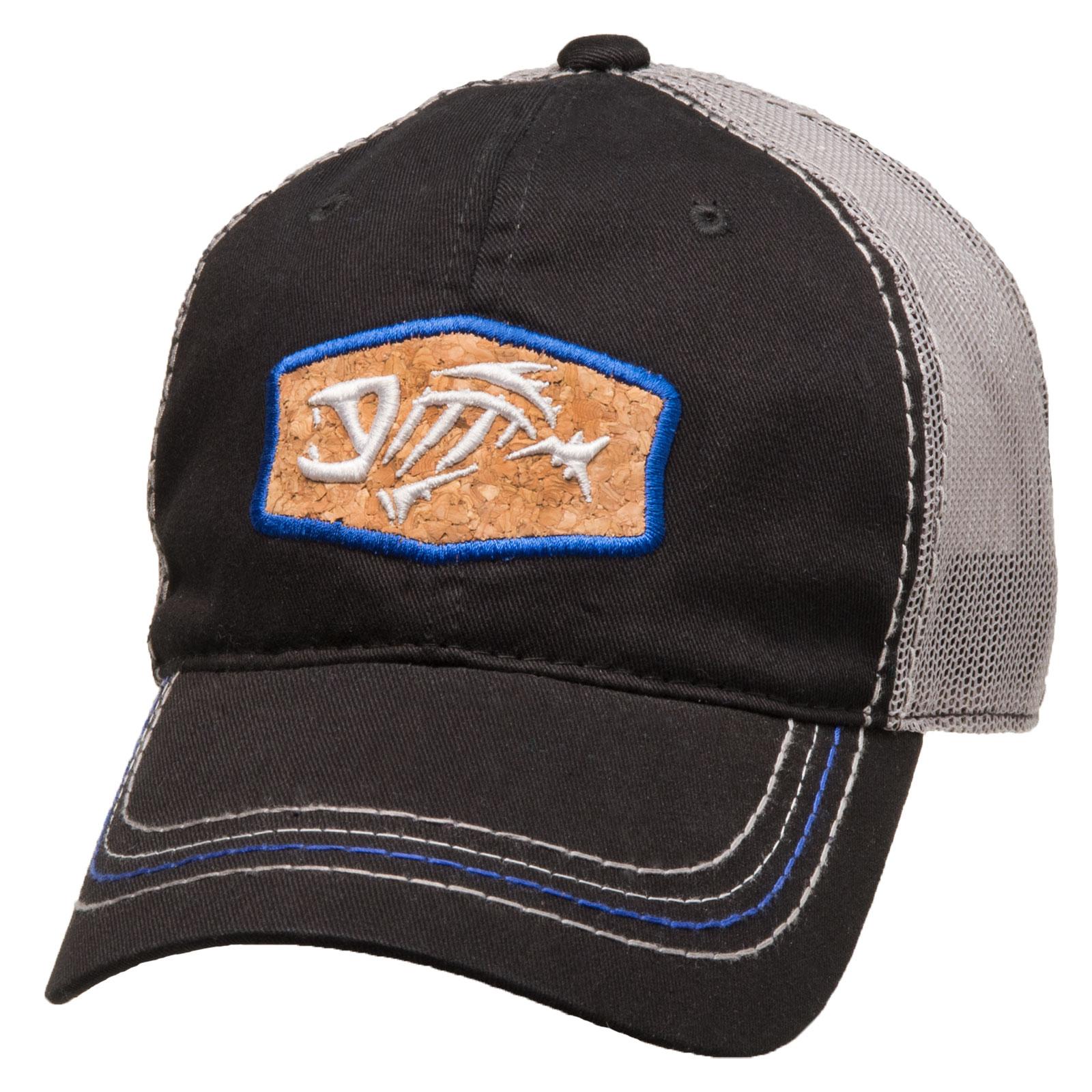 G Loomis Skeleton Fish Logo Cork Trucker Cotton Cap One