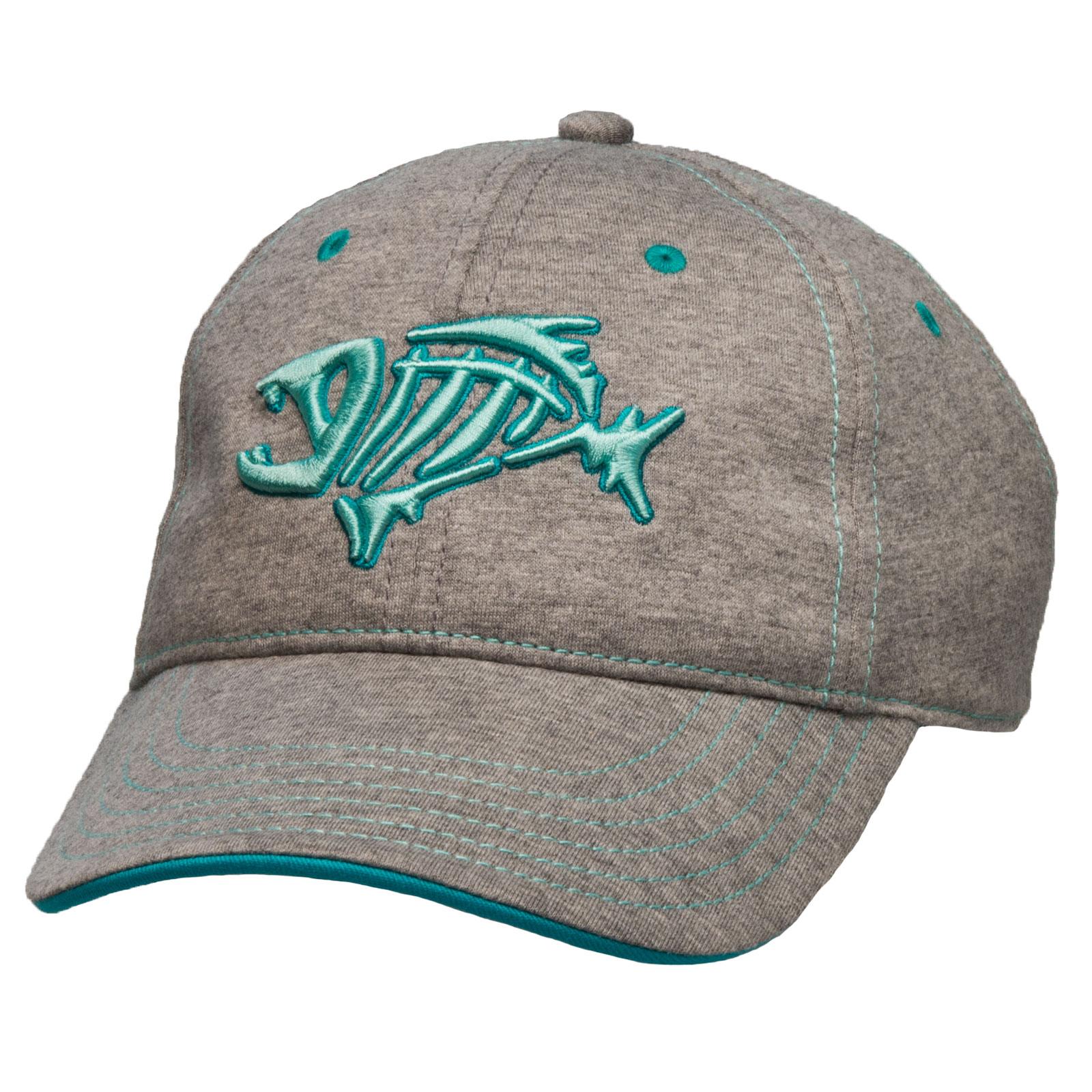 G Loomis Skeleton Fish Logo Women 39 S Jersey Cotton Cap One