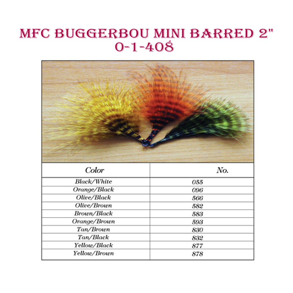MFC Mini Barred Buggerbou All Colors