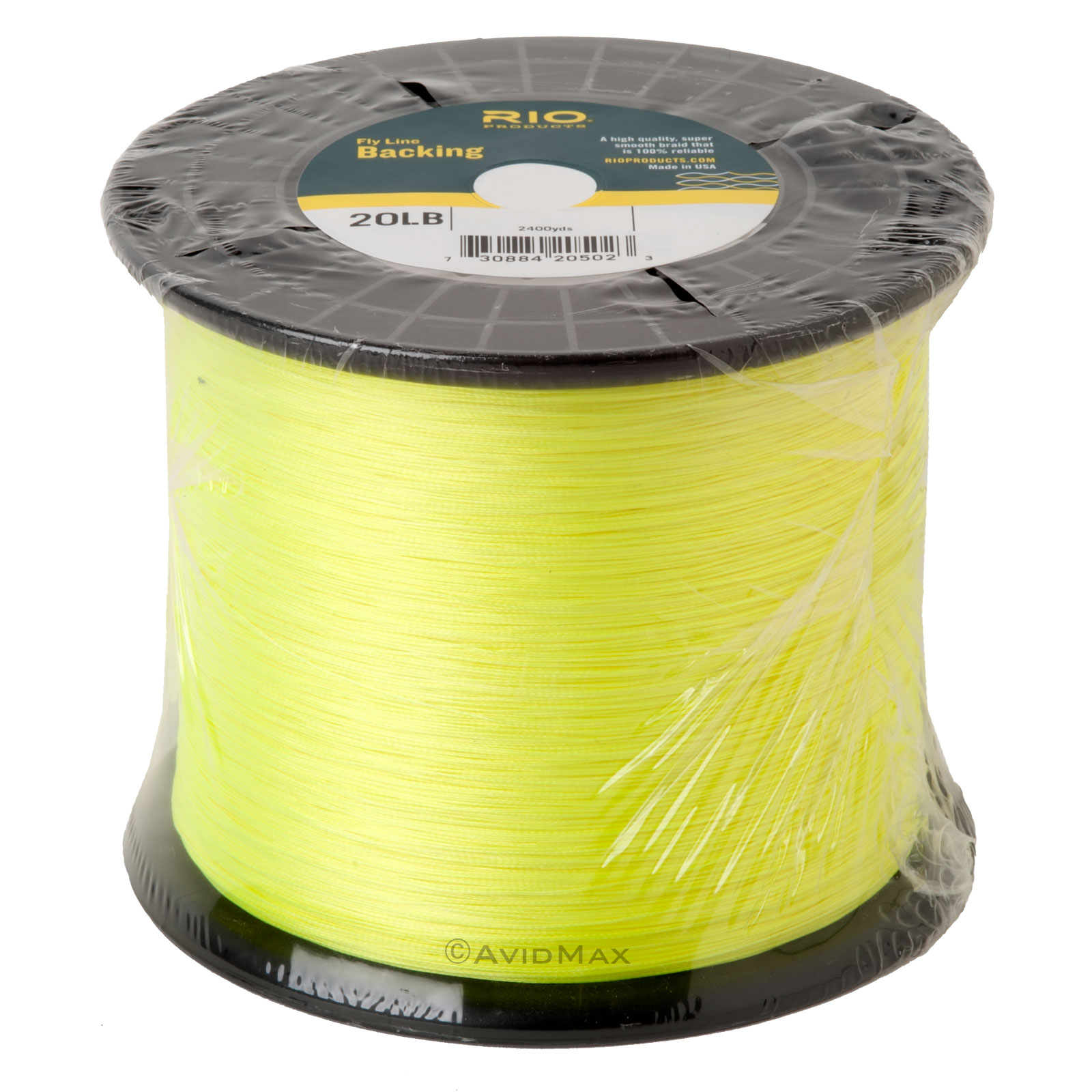 Rio dacron fly line backing 20 or 30 lb 100 to 5000 yd for Fly fishing backing
