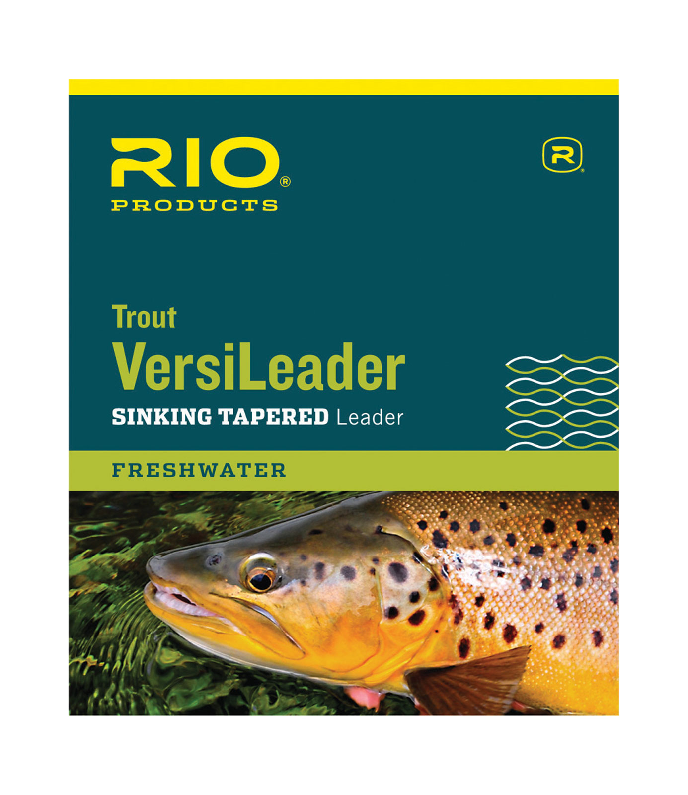 Rio trout fly fishing versileader 7ft 12ft sinking for Rio fly fishing