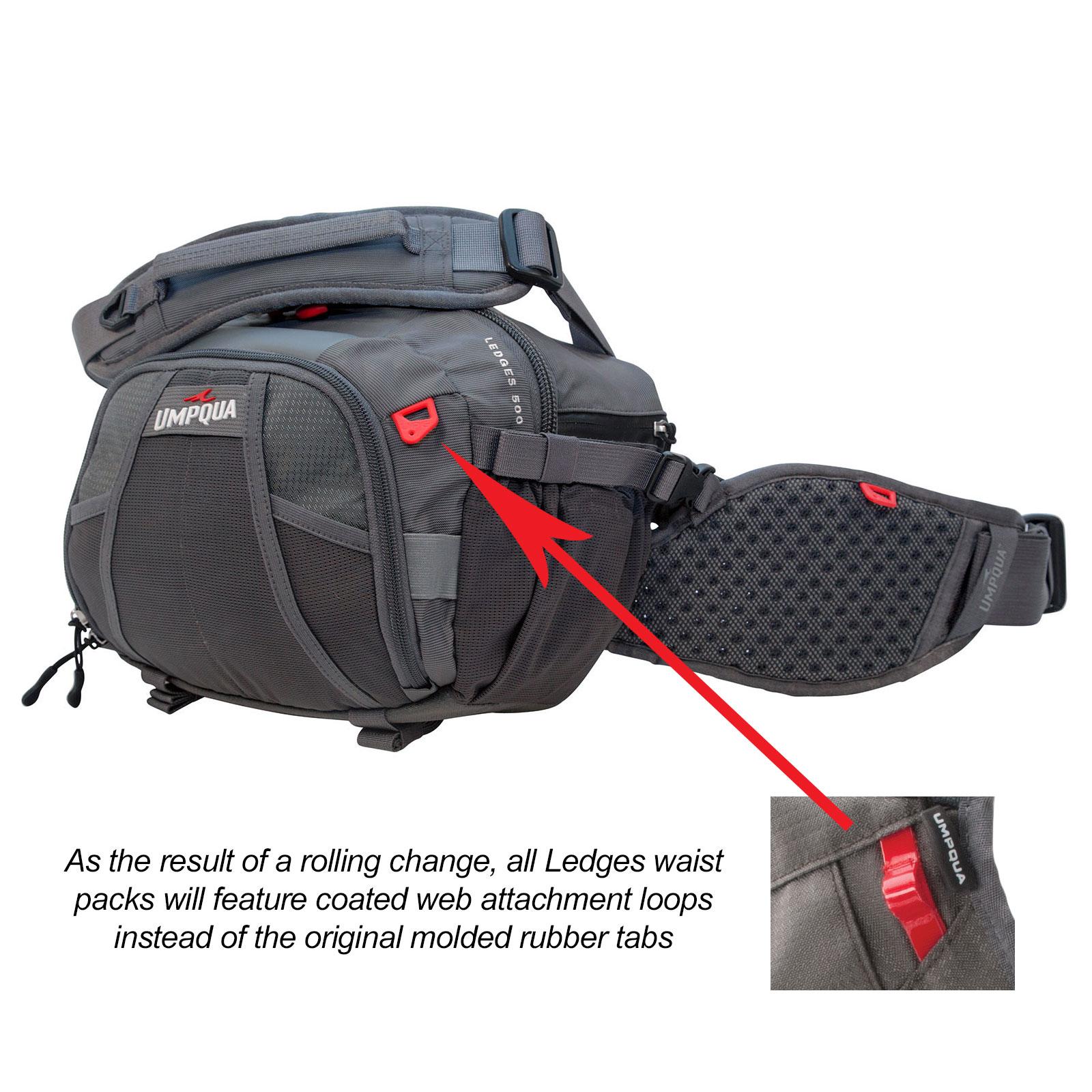 Umpqua ledges 500 waist pack for fly fishing bag new ebay for Fly fishing packs