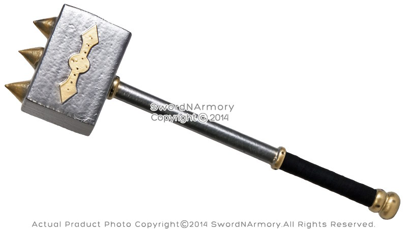 Hammer Game Toy : Quot fantasy larp foam battle hammer latex toy video game