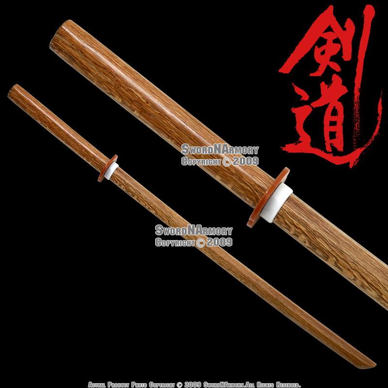 "39"" Wooden Bokken Bokuto Samurai Practice Sword Katana ..."