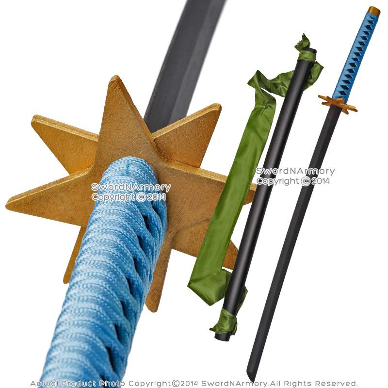Wooden Anime Toshiro Hitsugaya Fantasy Sword Ice Ring