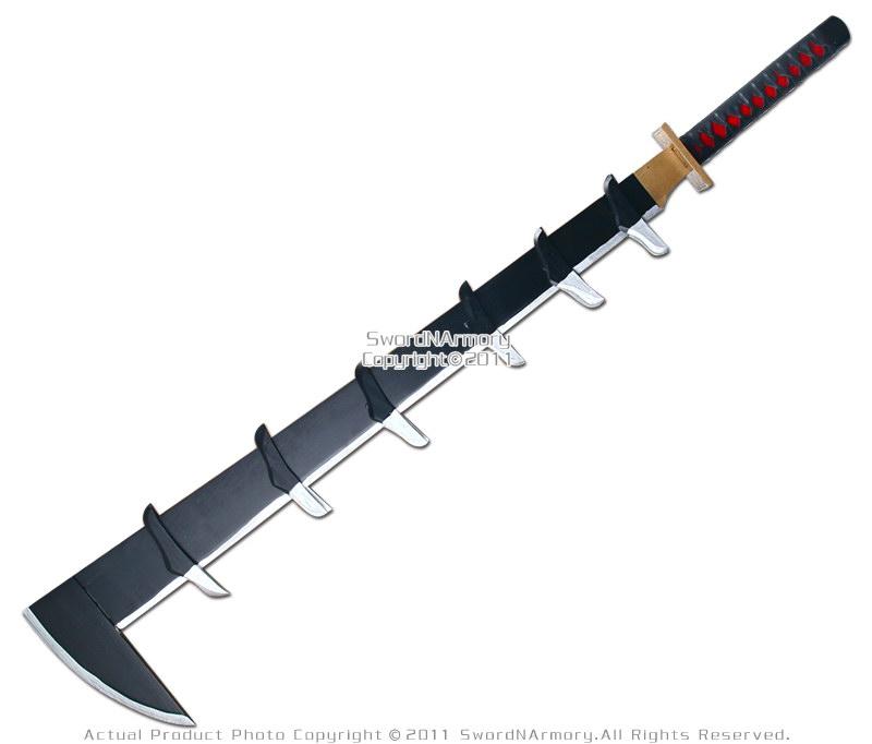 renji abarai zambimaru zanpakuto anime wooden sword ebay