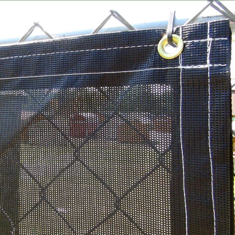 Mesh privacy screen for 4 x 10 for Cloth privacy screen