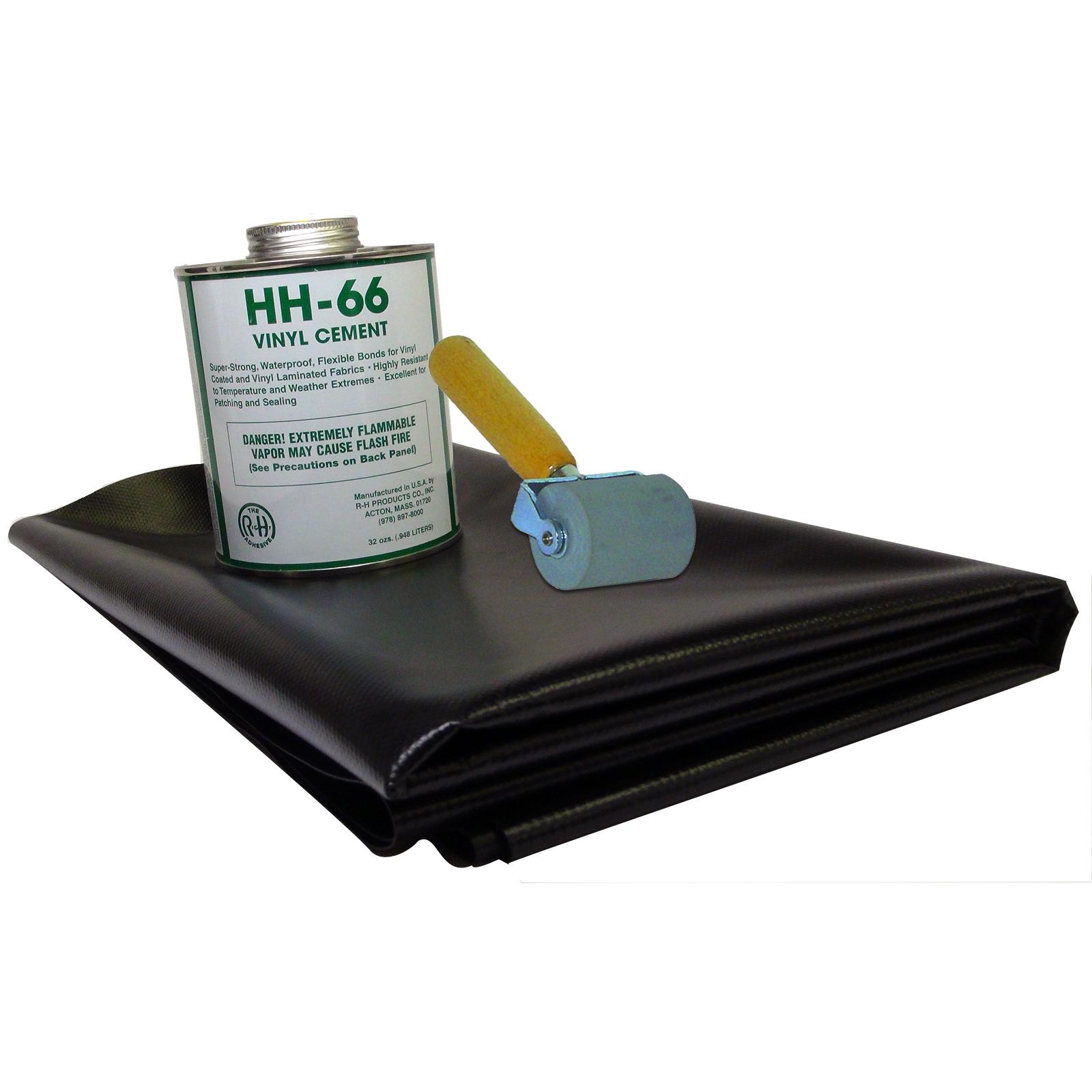 18 5oz Vinyl Repair Patch Kit With Roller Tool Ebay