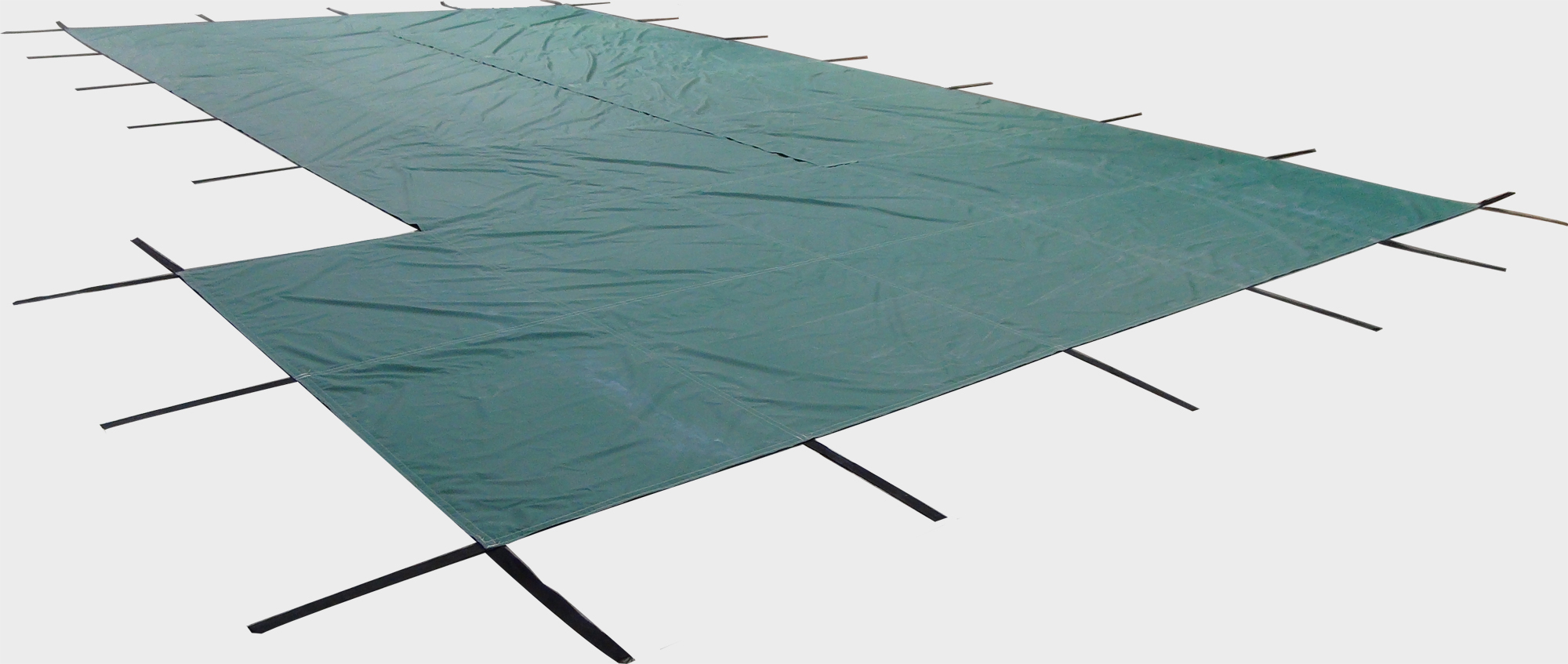 Ratchet Lock Safety Pool Cover For 18 X 36 In Ground
