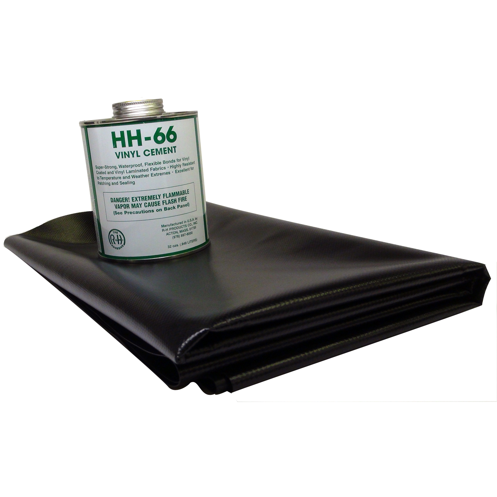 18 5oz Vinyl Repair Patch Kit Black Ebay